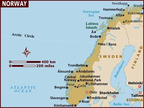 Norway DVB-T2