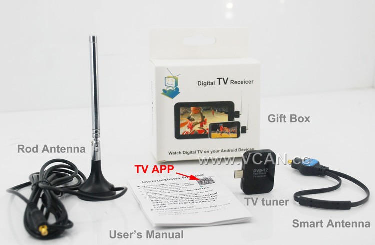 Android DVB-T2 TV Tuner