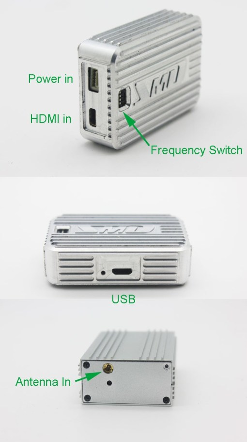 Cofdm wireless video transmitter modulator uav micro hdmi nols module HD-sdi receiver COFDM-901T 4