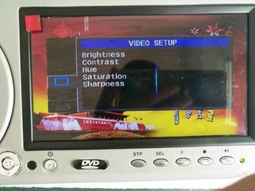 7 inch sun visor DVD player sunvisor left right side USB SD movie player black grey beige factory promotion TM-6686 7010 2