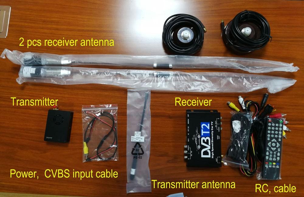 COFDM Transmitter Receiver