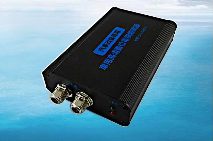 Car DVB-T 2 Antenna TV receiver VCAN1062 HD Digital TV tuner Box support MPEG4 H.264 18