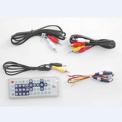 Car half din dvd player USB reader Auto mobile 1/2 din DVD-600 2