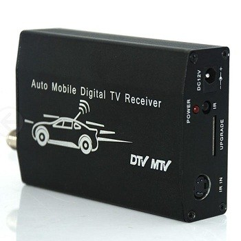 One Antenna auto mobile tv tuner HD car tv receive box for Japan/Brazil/Chile ISDB-T ISDB-T5009 1