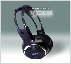WL-2008 car wireless IR stereo TV headphone infrared headset with TV, VCR, VCD, DVD or audio system 9