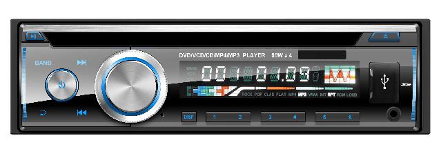 VCAN1479 Fixed Panel CAR DVD/DIVX/MPEG4/VCD 6