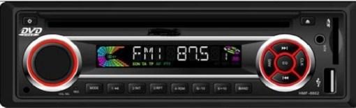 In dash One din Car USB SD MP3 player FM radio 1