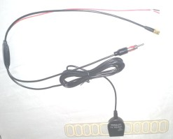 TV Radio Antenna DVB-T FM aerial built-in signal enlarger booster ANT-003FM 25db active amplified 4