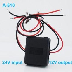 DC24V to 12V Car power charger adapter converter DC/DC Converter Regulator 24V Step Down to 12V Low Voltage Reducer Buck Transformer Vehicles 7