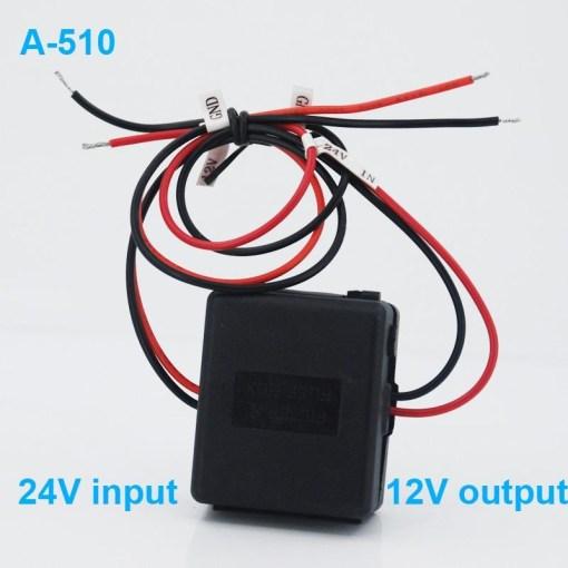 DC24V to 12V Car power charger adapter converter DC/DC Converter Regulator 24V Step Down to 12V Low Voltage Reducer Buck Transformer Vehicles 3