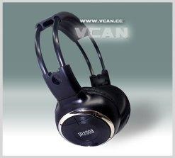 car wireless IR stereo TV headphone 11
