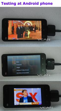 Android DVB-T2 DVB-T TV receiver for Phone Pad Micro USB TV tuner apk 12