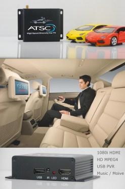 Car ATSC Digital TV receiver for USA Canada Mexico 13
