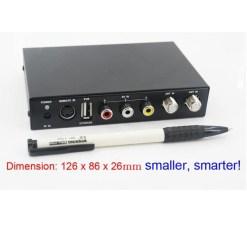 DVB-T2100HD Car DVB-T MPEG4 H.264 2 tuner Digital TV receiver 2 tuner 2 antenna 16