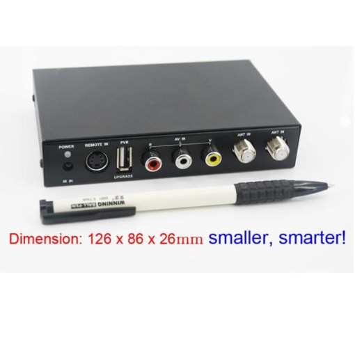DVB-T2100HD Car DVB-T MPEG4 H.264 2 tuner Digital TV receiver 2 tuner 2 antenna 8