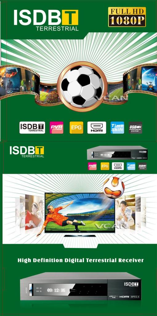 VCAN0870 ISDB-T MPEG4 digital tv receiver 9