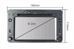 Alfa Romeo android GPS VCAN1443 Quad Core 5.1.1 Car DVD GPS for 159 Sportwagon Spider Brera 8