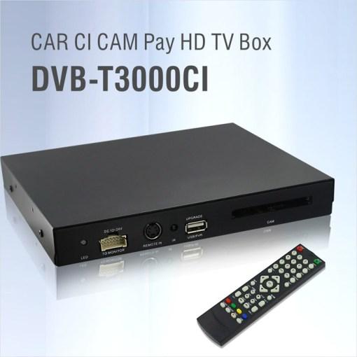 DVB-T3000CI In car MPEG2-4 CAM CI Module DVB-T DTV Europe TNT TDT CA 1