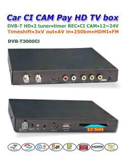 DVB-T3000CI In car MPEG2-4 CAM CI Module DVB-T DTV Europe TNT TDT CA 5