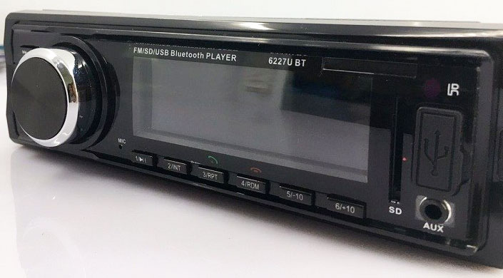 Mp3 Player Automotivo Ray X MP3-6227 Bluetooth Usb Sd 10