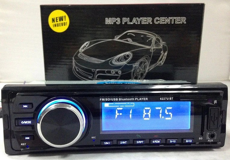 Mp3 Player Automotivo Ray X MP3-6227 Bluetooth Usb Sd 7