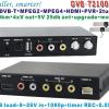DVB-T2100HD Car DVB-T MPEG4 H.264 tv receiver with 2 tuner PVR USB Record 11