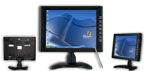 10.4 inch new panel VGA TFT touchscreen laptop monitor with speaker amplifier TM-1040 2