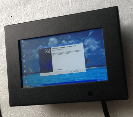 7??Digital TFT LED VGA Touch Monitor IP66 VCAN1347 1