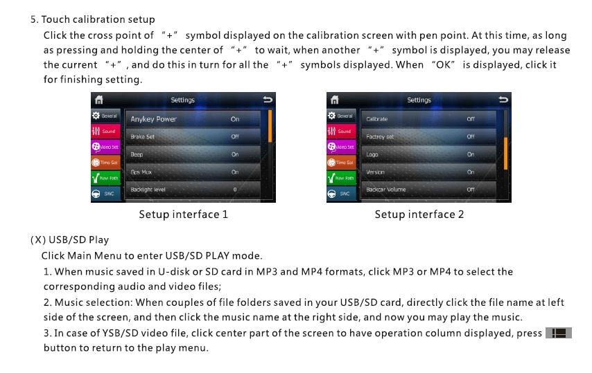 VCAN1294 user manual for 2 din GPS navigation DVD USB SD 16