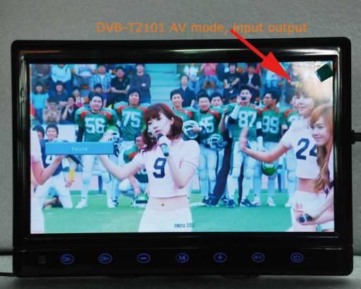 diversity dvb-t cofdm 10.1 inch digital tv monitor dvb-t2 receiver hdmi in out 6M 7M 8M bandwidth 170M to 930M frequency 2