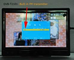 diversity dvb-t cofdm 10.1 inch digital tv monitor dvb-t2 receiver hdmi in out 6M 7M 8M bandwidth 170M to 930M frequency 4