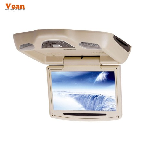 10.2 inch roof mount monitor usb sd dvd player ceiling flip down screen tm-1020 4