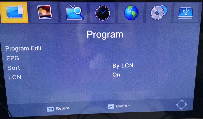 4 Antenna DVB-T24 new model OSD menu 4