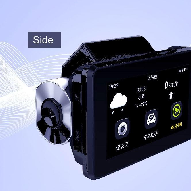 Android DVR dashcam car camera 3.0 inch full 1080 HD GPS logger dual camera video recorder Vcan1608 17