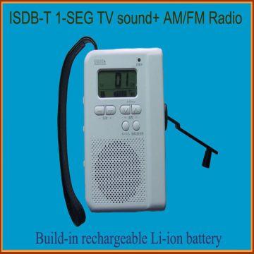 TV Sound Radio Isdb-t One seg Dynamo Radio 1