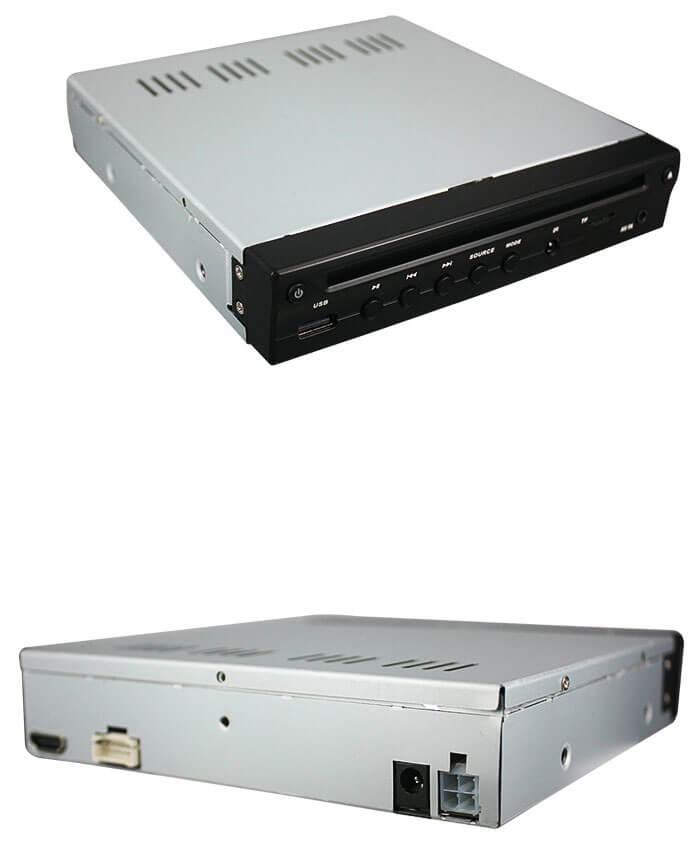 Half Din Car DVD Player HDMI output TF USB player 4