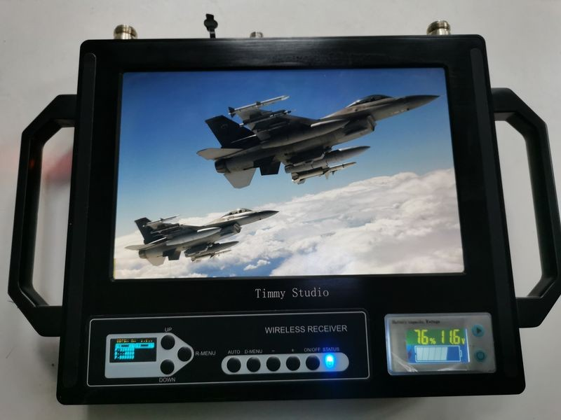 10-inch monitor cofdm receiver 2