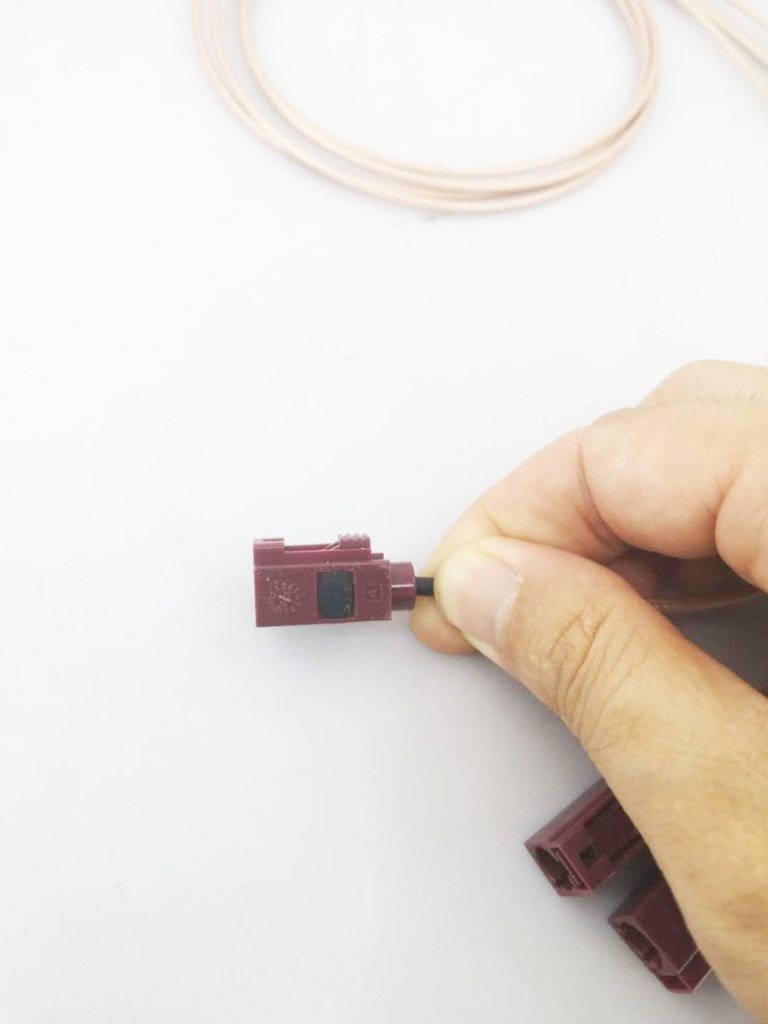 China fakra connector standard color 7
