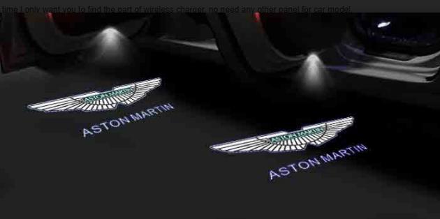 Courtesy lamp logo light door for Aston Martin DB9 DB11 DBS V8 V12 Vantage modification 10