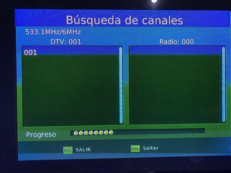 ISDB-T9821 Tested in Honduras 1