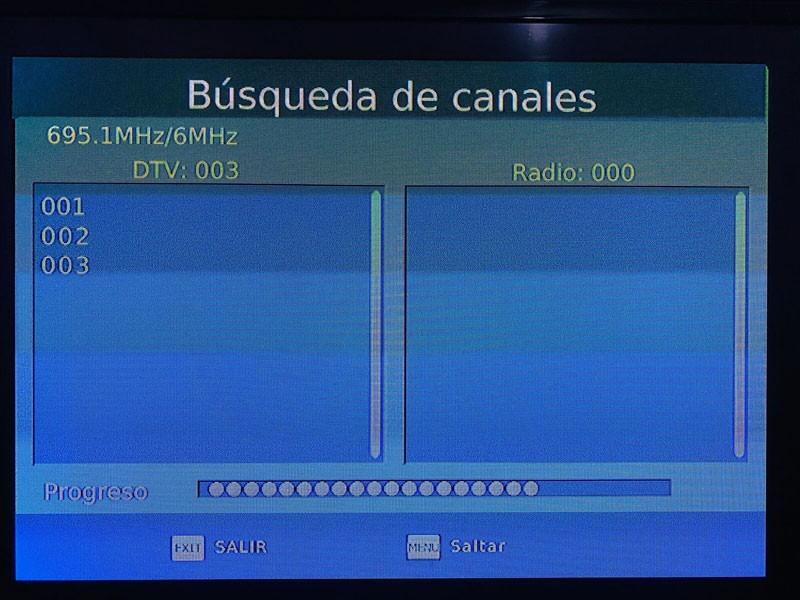 ISDB-T9821 Tested in Honduras 4