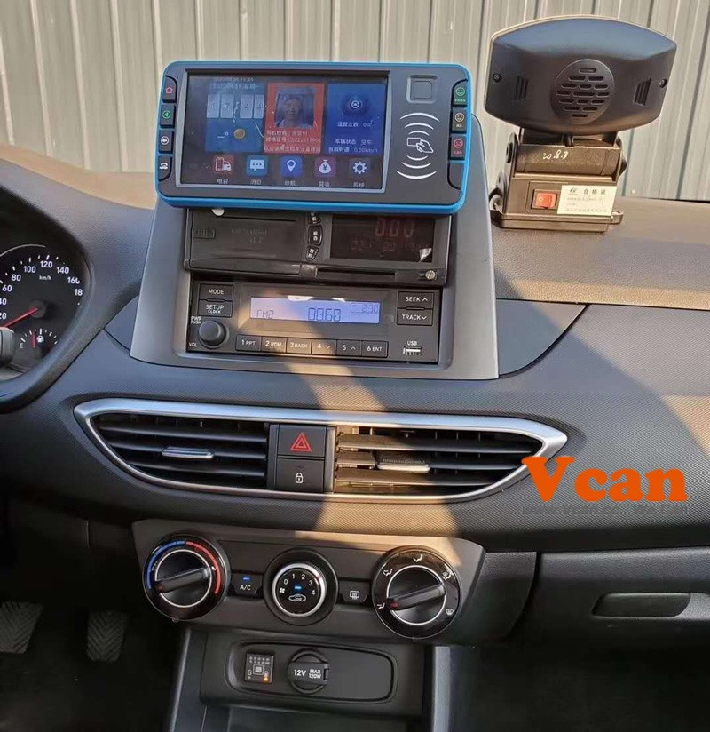 china android taxi MDT mobile data terminal software 8