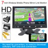 7 Inch HDMI VGA monitor Wireless Mobile Phone Mirror Link, IPS TFT LCD Color Multifunction Car Headrest Rear View Monitor 10