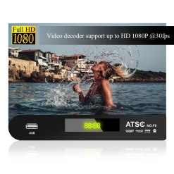 ATSC T terrestrial digital HD TV receiver work at USA Canada Mexico Korea tuner ATSC-T atsc t standard 11