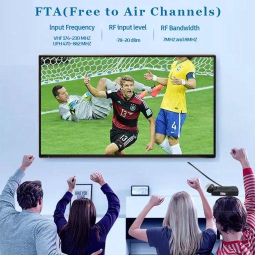 DVB-T2 H265 Scart TV Tuner Box Digital Terrestrial Receptor WIFI Receiver Youtube Set Top Box 1080P IPTV Box 2