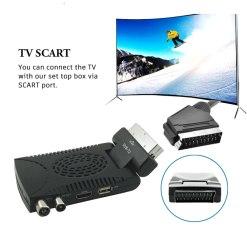 DVB-T2 H265 Scart TV Tuner Box Digital Terrestrial Receptor WIFI Receiver Youtube Set Top Box 1080P IPTV Box 9