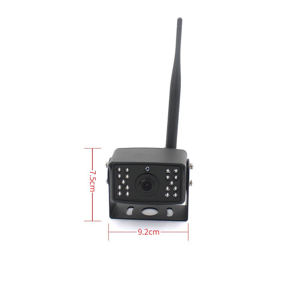 7 inch quad monitor wireless camera DVR 11