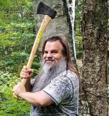 Bryan and his axe