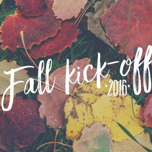 Fall Kick-off 2016