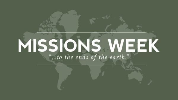 Missions Weeks 2018